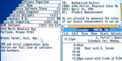 Así lucía el primer Windows de la historia Foto:windows.microsoft.com