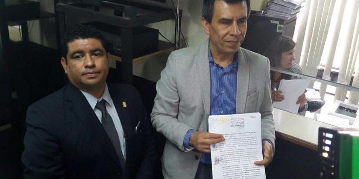 GAM suma antejuicio contra Otto Pérez