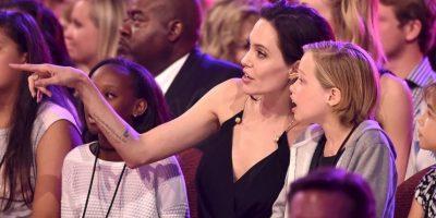 """""""¿Qué hay de extraño en esto? Algunos niños quieren la capa de Superman, ella quiere ser como sus hermanos mayores"""", declaró Jolie a dicho medio. Foto:The Grosby Group"""
