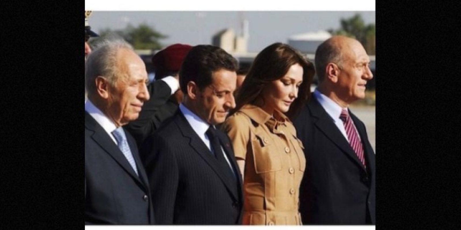 La cantante y modelo italo francesa, Carla Bruni, está casada desde el año 2008 con el expresidente de Francia, Nicolás Sarkozy. Foto: Instagram.com/carlasarkozy/