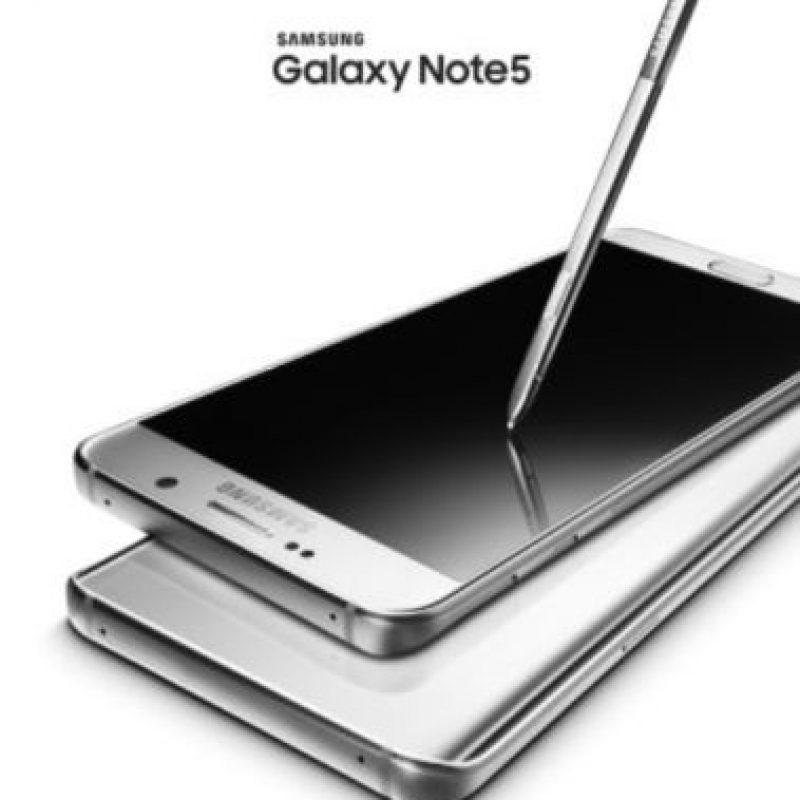 Este es el nuevo Samsung Galaxy Note 5. Foto:Samsung