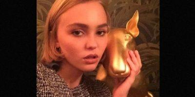 Recientemente, Lily participó para una campaña que busca incrementar la concientización de la sexualidad Foto:Instagram/lilyrose_depp
