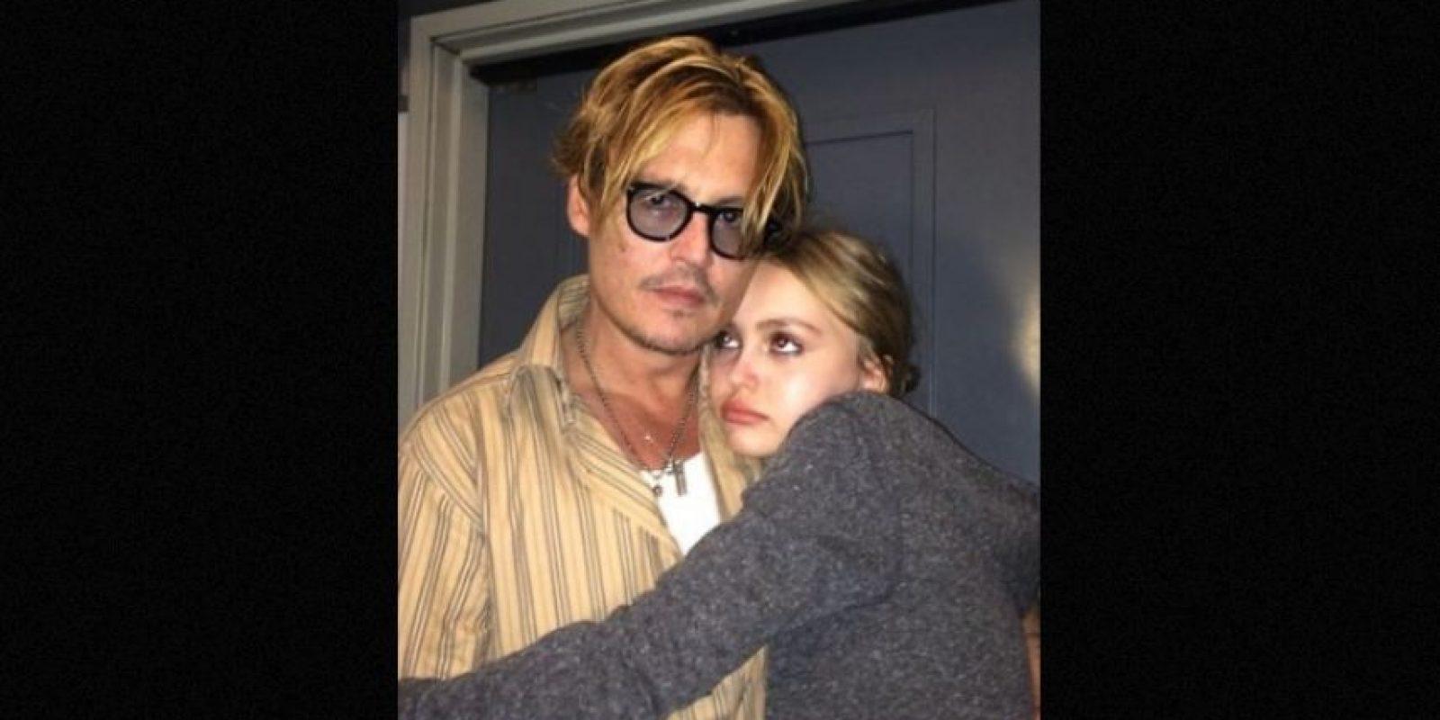 Lily Rose tiene 16 años y es hija del actor Johnny Depp y de la modelo, Vanessa Paradis. Foto:Instagram/lilyrose_depp