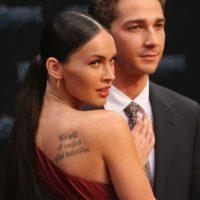 """Megan Fox y Shia LaBeouf se conocieron durante el rodaje de la película """"Transformers"""" en el año 2007. Foto:Getty Images"""
