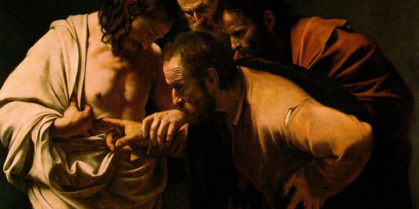 """La incredulidad de Santo Thomas"" Caravaggio Foto:Wikimedia"