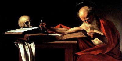 """""""St. Jerome"""" Caravaggio Foto:Wikimedia"""