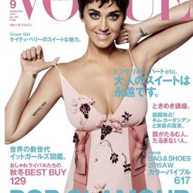 Vogue, protagonizada por Katy Perry Foto: Vogue