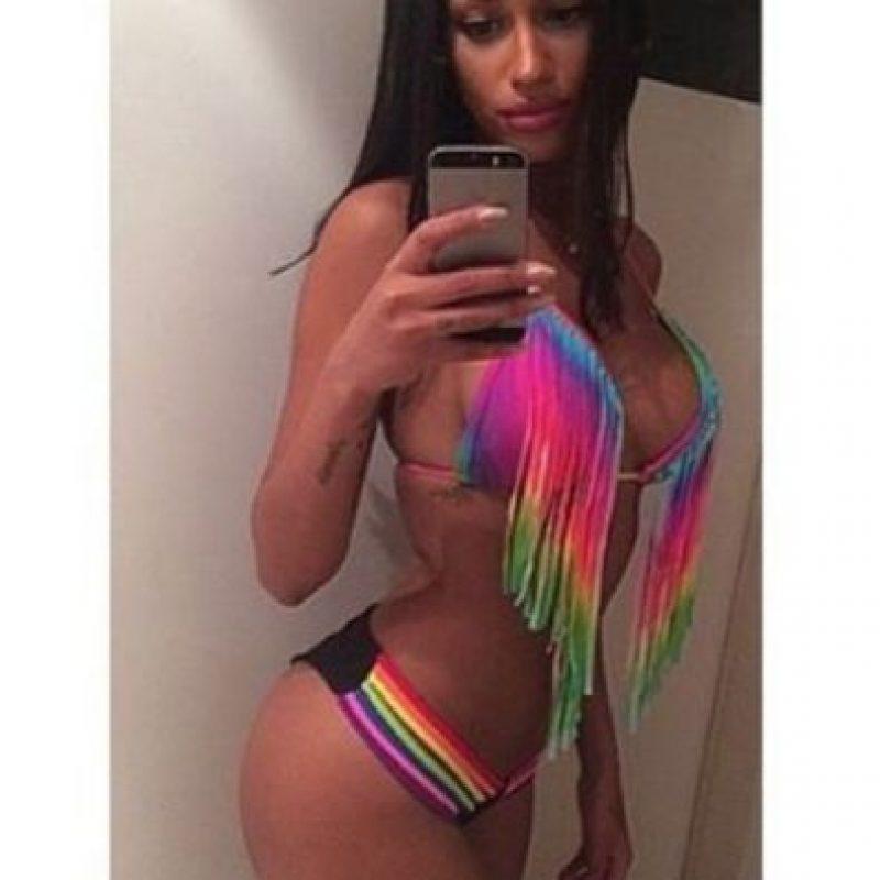 La modelo belga confirmó en las redes sociales su relación con Cheikhou Kouyaté Foto:Vía instagram.com/thisisfannyneguesha