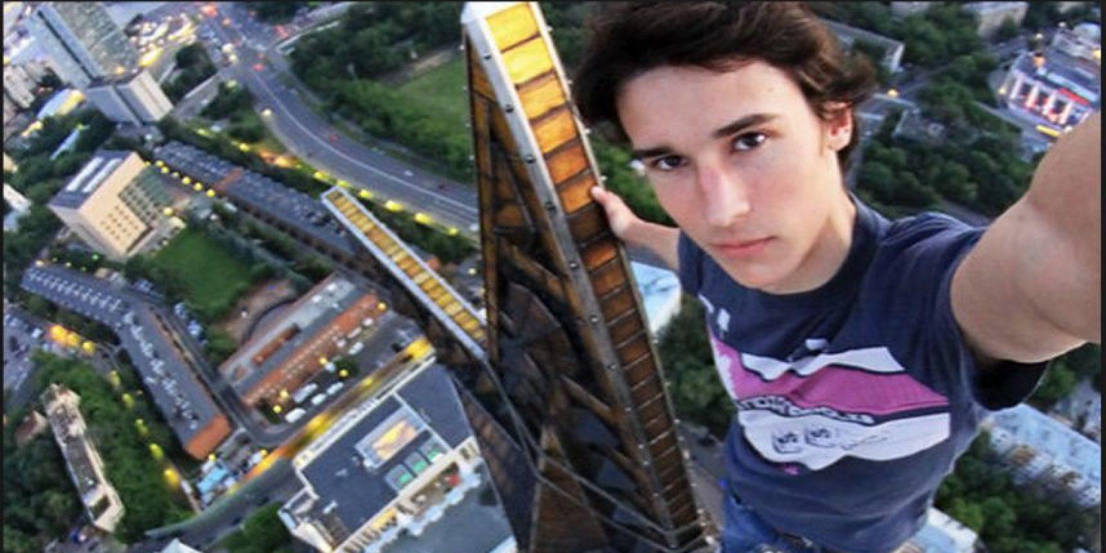 Él es Kirill Oreshkin, otro joven que se toma selfies extremos Foto:Kirill Oreshkin