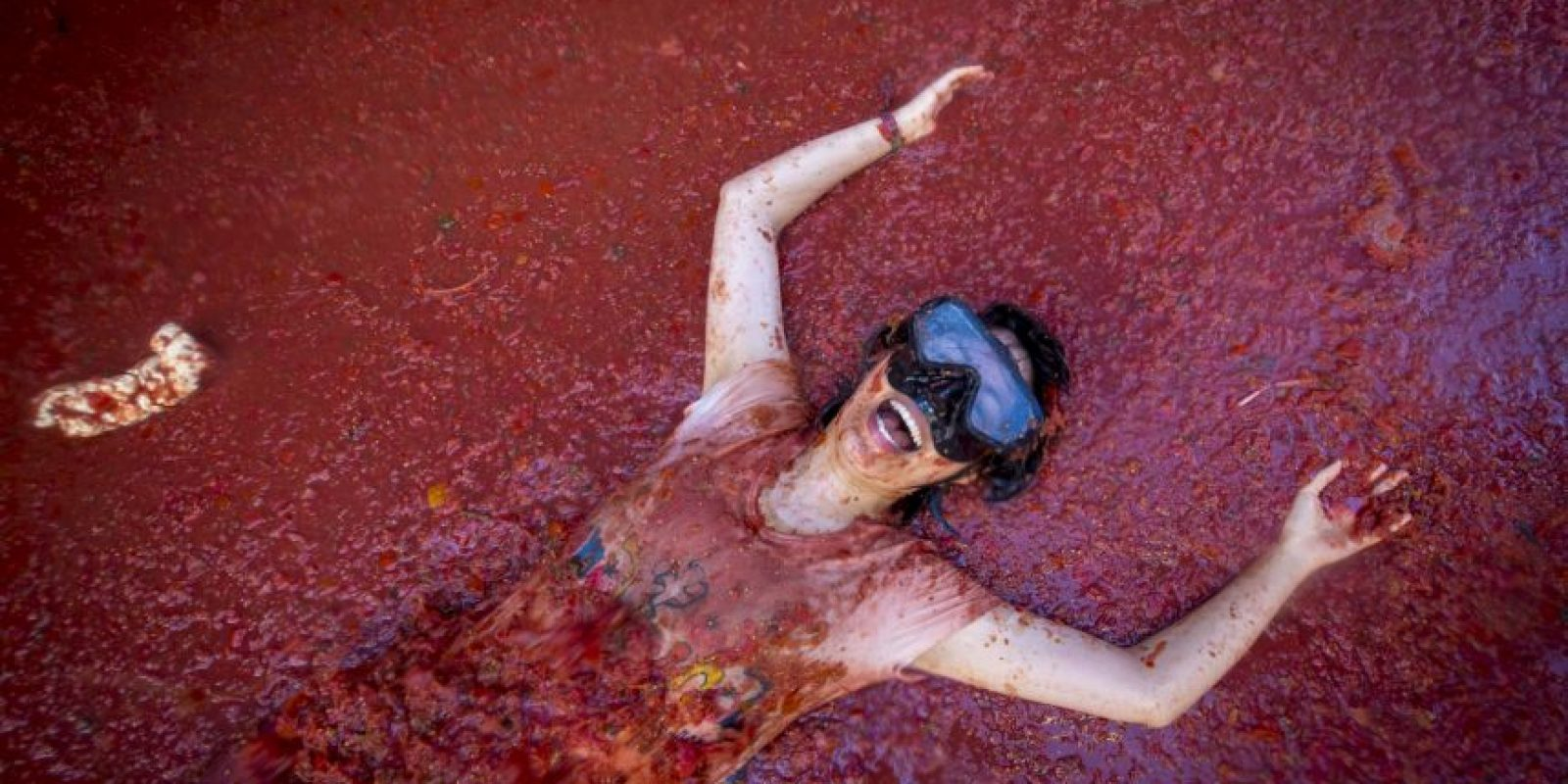 """Hasta que se hizo una protesta llamada """"Entierro del Tomate"""". Foto:AFP"""