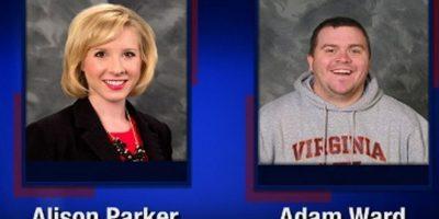Eran Alison Parker de 24 años y Adam Ward de 27 años Foto:AFP