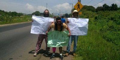 FOTOS. Jutiapanecos exigen la renuncia de Otto Pérez