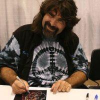 """Mick Foley. Conocido como """"La leyenda del hardcore"""". Foto:WWE"""