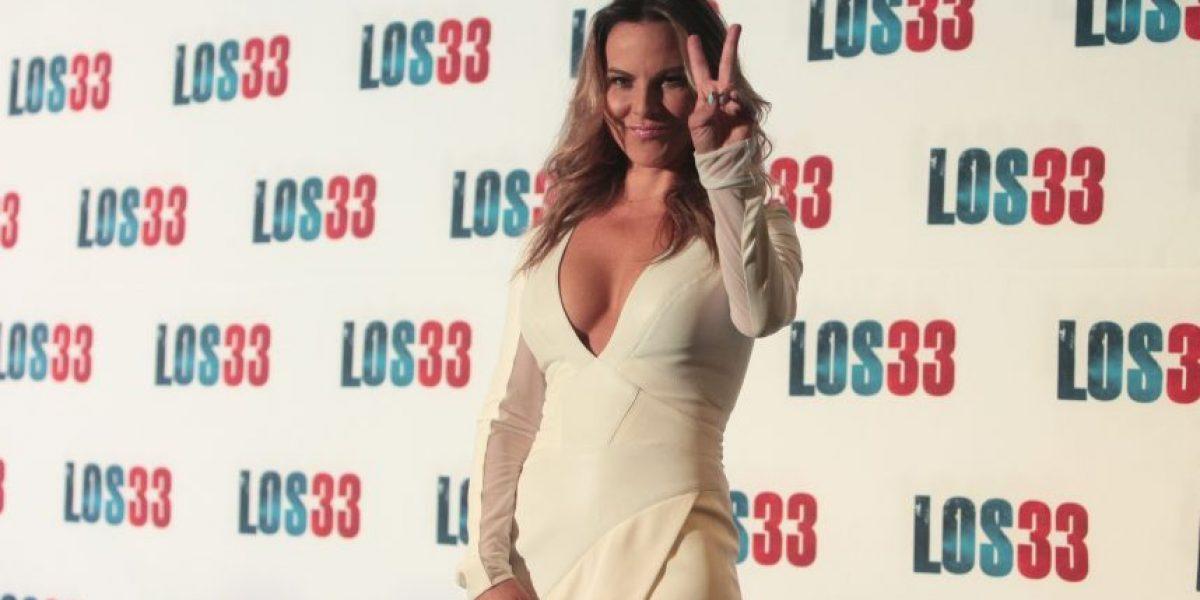 """Kate del Castillo y su escote, los protagonistas en la presentación de """"Los 33"""""""
