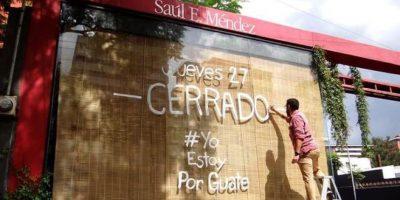 Saúl E. Méndez se suma a movimiento cívico cerrando sus tiendas