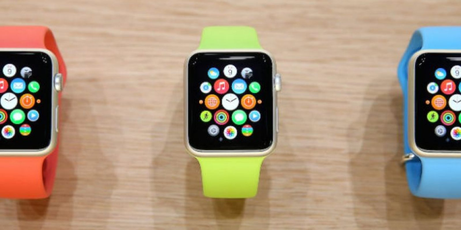 Apple Watch de Apple Foto: Getty Images