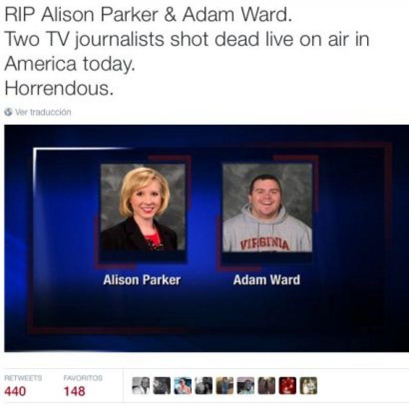 Presentadores de TV también rindieron tributo Foto:Twitter.com
