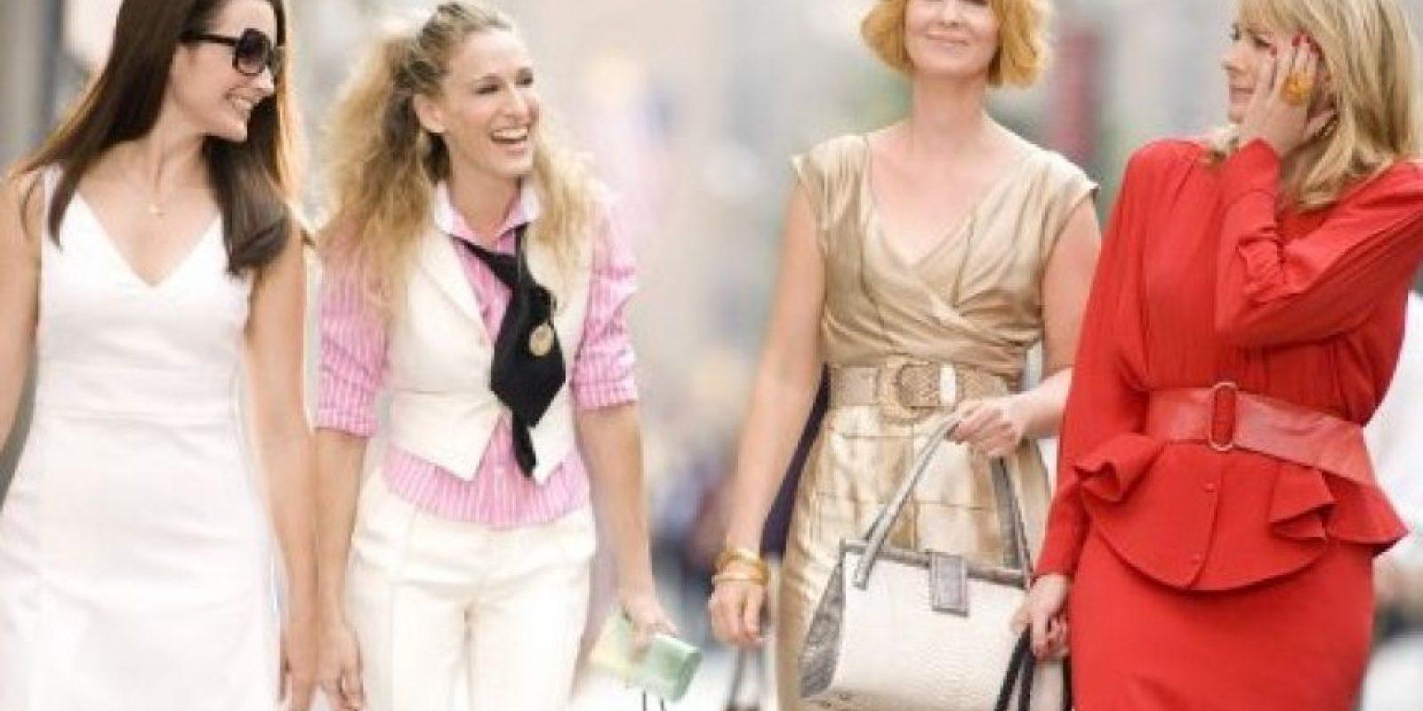 """La historia de """"Sex and the city"""" trataba de las vidas y amoríos de cuatro mujeres que son muy buenas amigas. Foto:IMDb"""