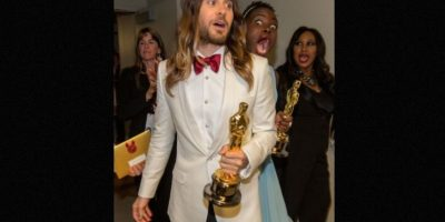 Jared Leto y Lupita Nyong'o Foto: Getty Images
