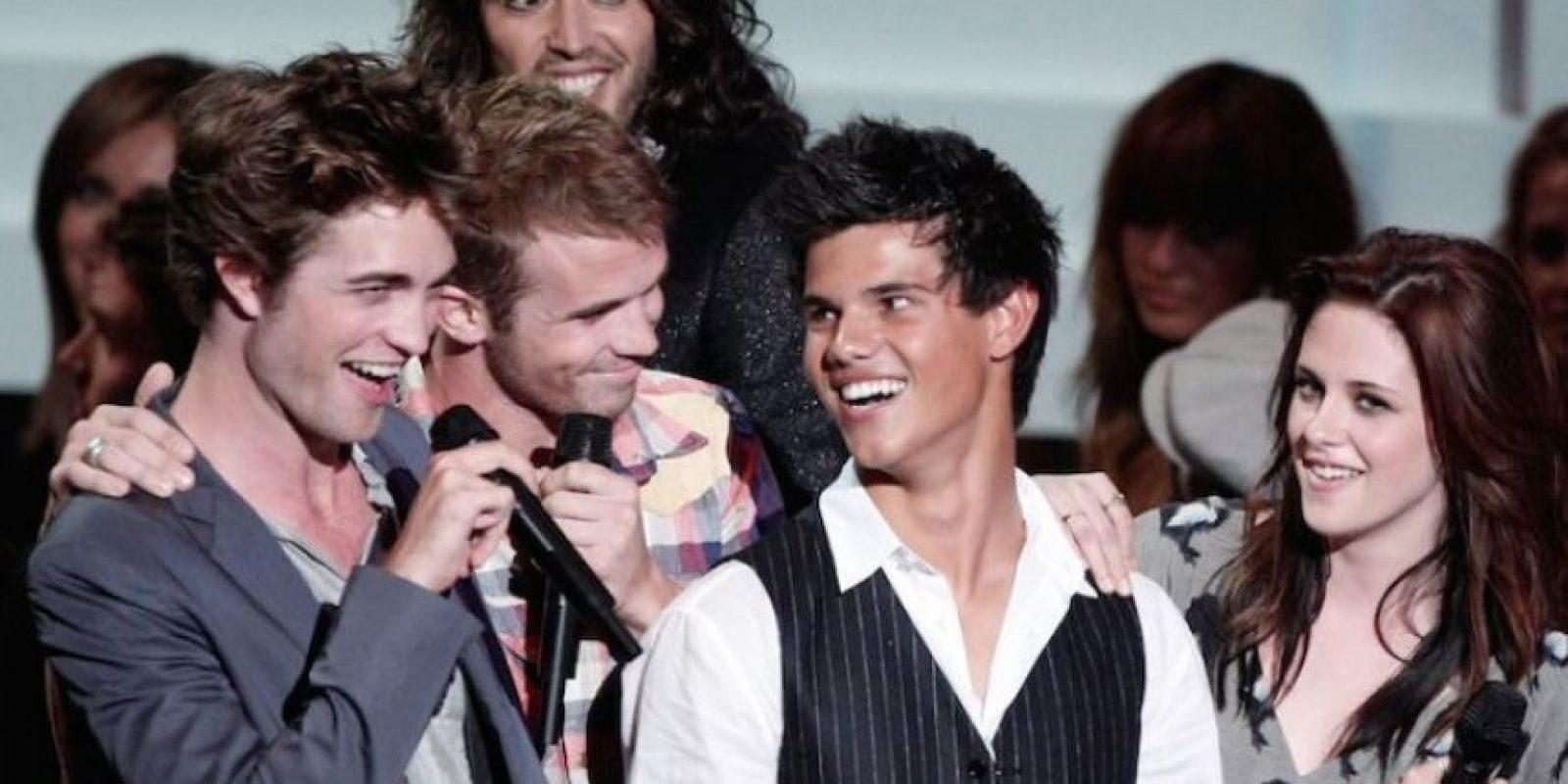 Robert Pattinson, Cam Gigandet, Taylor Lautner y Kristen Stewart Foto:Getty Images