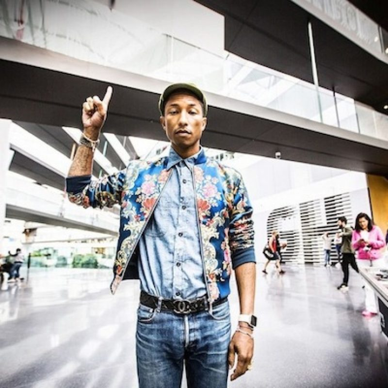 Pharrell ha confirmado su participación. Foto:Intagram/pharrell