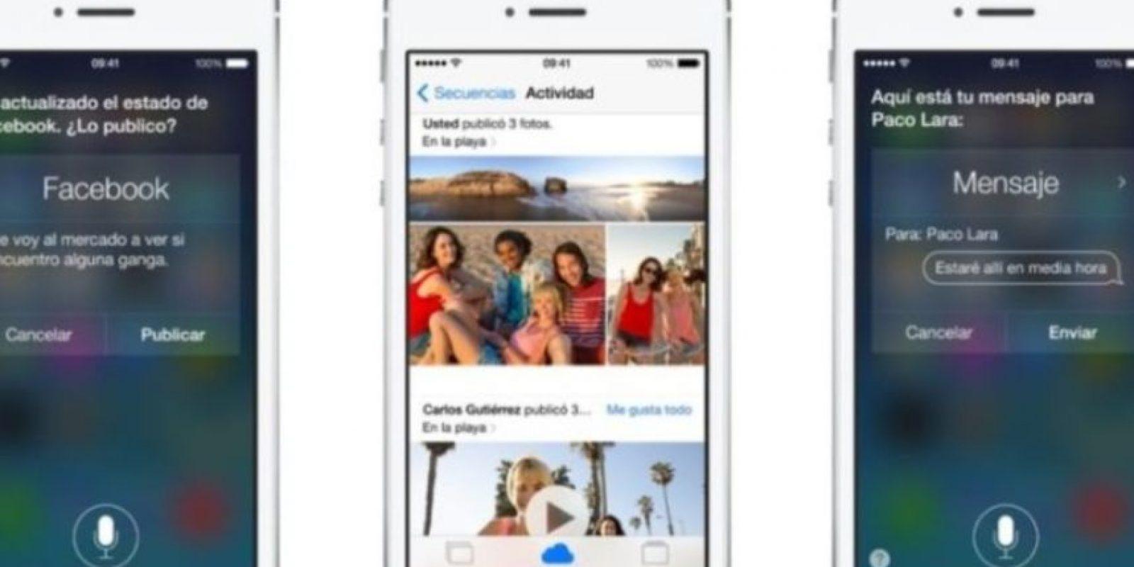 Busca la aplicación idónea para responder a su respuesta. Foto:Apple