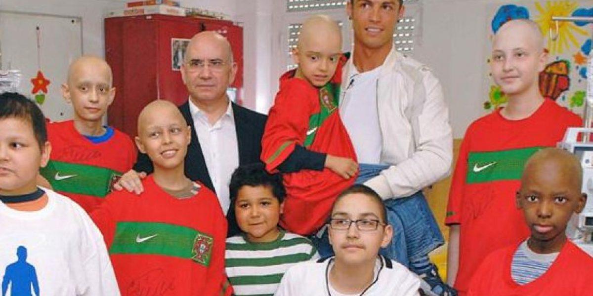 Siete historias que no conocías de Cristiano Ronaldo