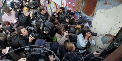 En ese país solo se reseñó el encarcelamiento de un periodista en 2014. Foto:Getty Images