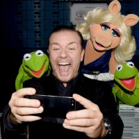 "Ricky Gervais, comediante y creador de la serie ""The Office"". Foto: Getty Images"