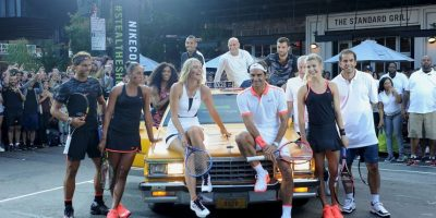 Previo al arranque del US Open, las estrellas del tenis tomaron las calles de Nueva York. Foto:Getty Images