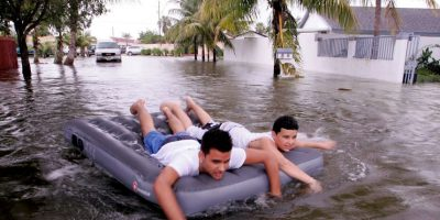 Más de mil personas murieron por el huracán y sus inundaciones. Foto:Getty Images