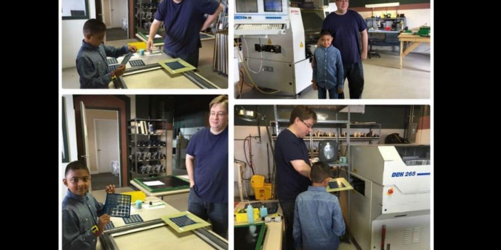 Le interesa la electrónica y la programación desde hace tres años cuando asistió por segunda vez a la Maker Faire Foto:O Watch/Kickstarter
