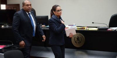 El traslado de Roxana Baldetti a cárcel de mujeres será el sábado