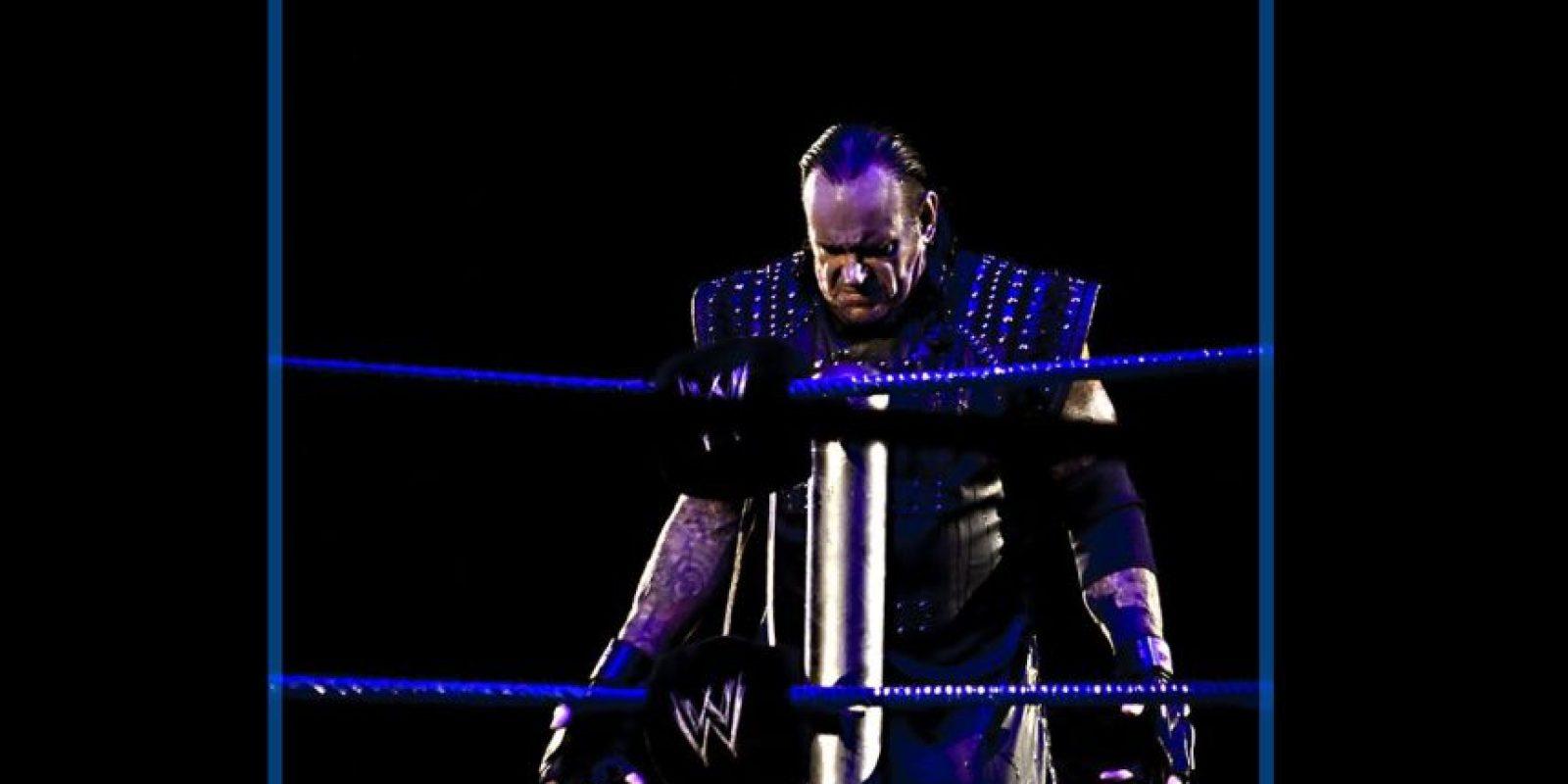 A sus 50 años peleó en el pasado SummerSlam, donde venció en una polémica pelea a Brock Lesnar Foto:WWE