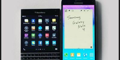 La competencia más cercana a este móvil sería el reciente Galaxy Note 5 de Samsung Foto:Vía digitaltrends.com