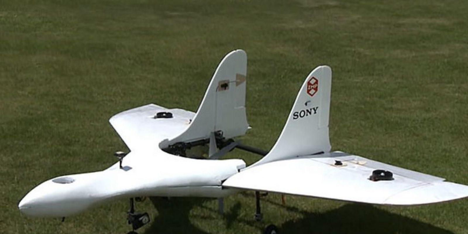 Así luce el nuevo drone de la empresa japonesa Foto:Sony