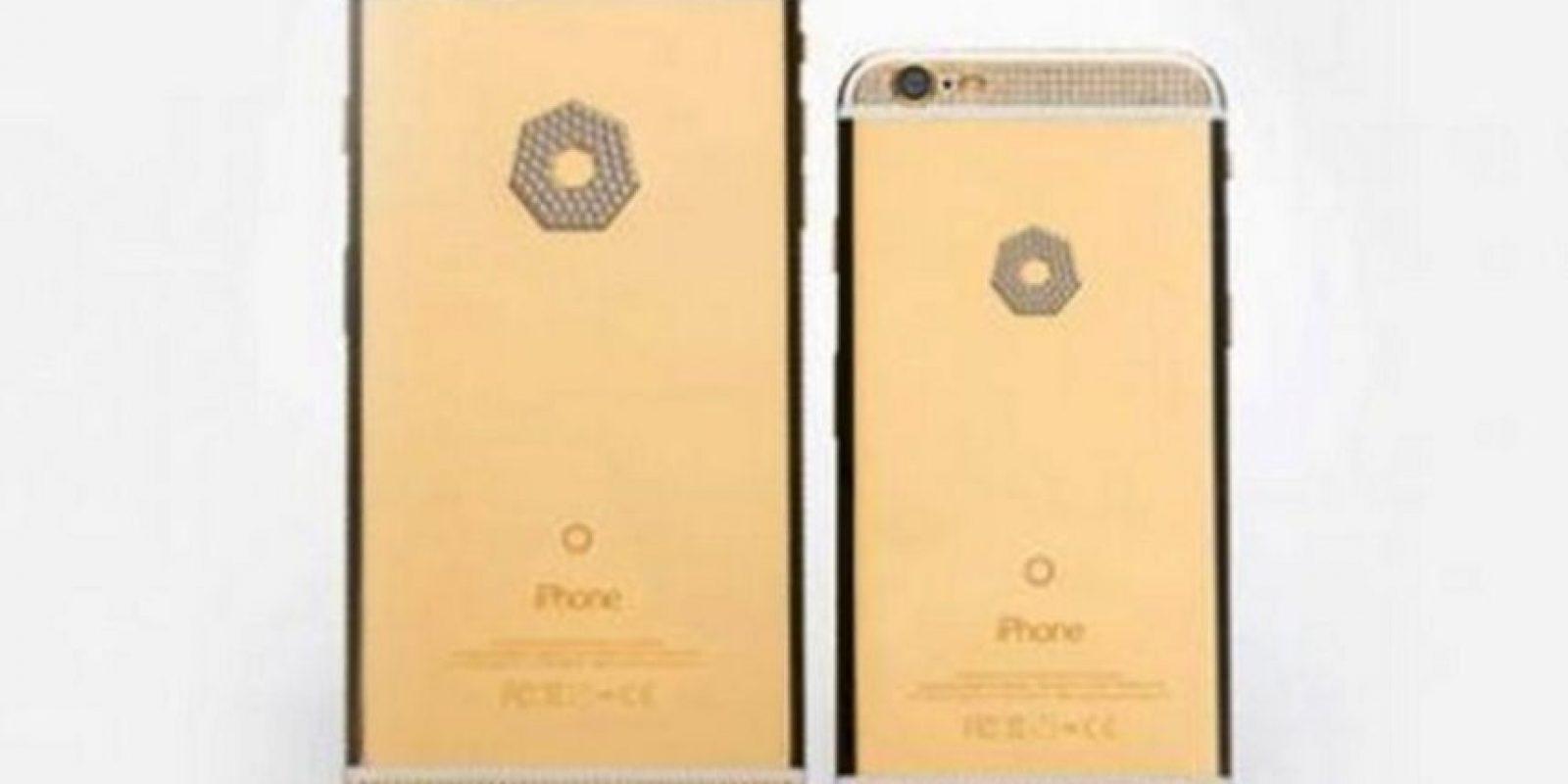 Y así se verá en la versión de oro y diamantes Foto:Brikk