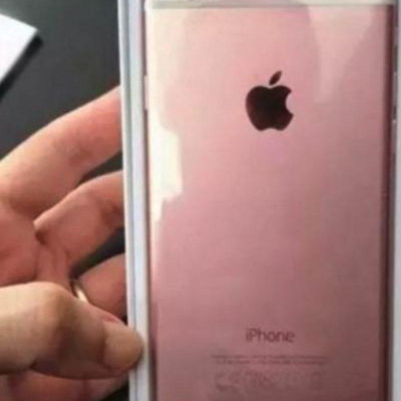Los rumores dicen que podría estar disponible en color rosa Foto:vía daliulian.net