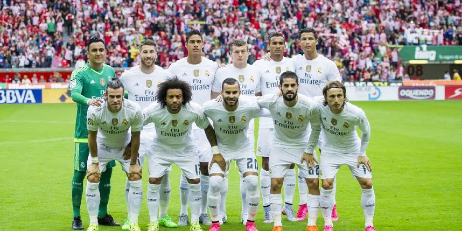 BOMBO 2: Real Madrid (España) Foto:Getty Images
