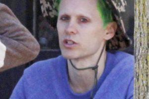 """Son pocas las imágenes que se han podido ver de su caracterización como """"Joker"""" Foto:Grosby Group"""