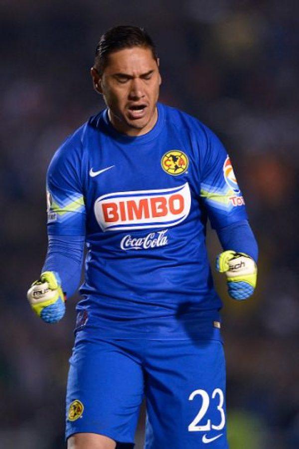 """Ha tenido un papel destacado como portero del América de México y también ha sido seleccionado nacional aunque le han """"llovido"""" críticas por su sobrepeso. Foto:Getty Images"""