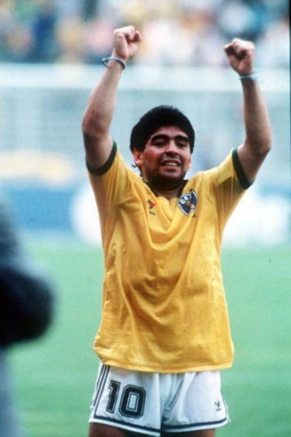 1. Diego Maradona Foto:Getty Images