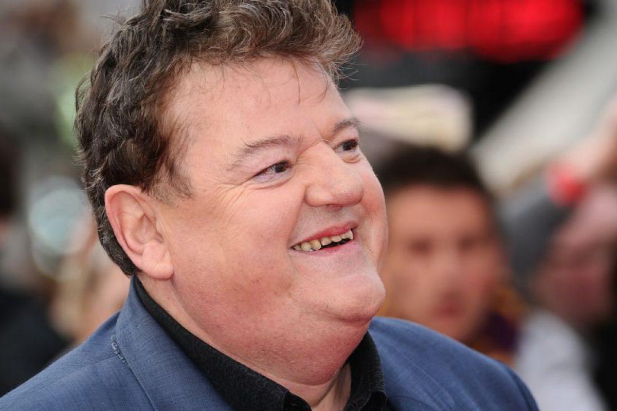 """Y se dedica a promocionar el personaje de """"Hagrid"""" junto a otras estrellas de esta saga Foto:Getty Images"""