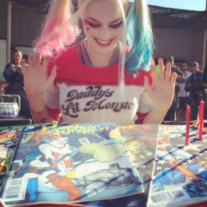 """Y su excusa fue: """"Si 'Harley' recibe algo de 'Joker', probablemente lo apreciaría"""". Foto:vía instagram.com/margotrobbie"""