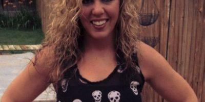 Whitney Fetters de 28 años, envió por lo menos 20 selfies mostrándose totalmente desnuda Foto:Twitter – Archivo