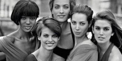 Así fue la reunión de las top models más recordadas de los 90