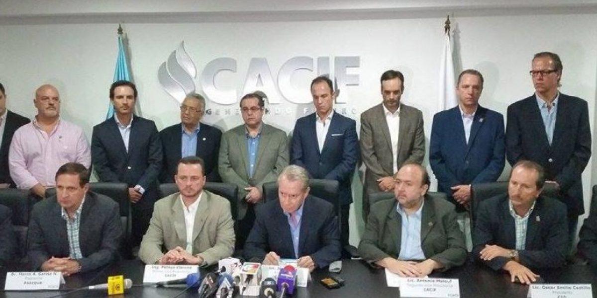 CACIF: El Congreso tiene una responsabilidad histórica