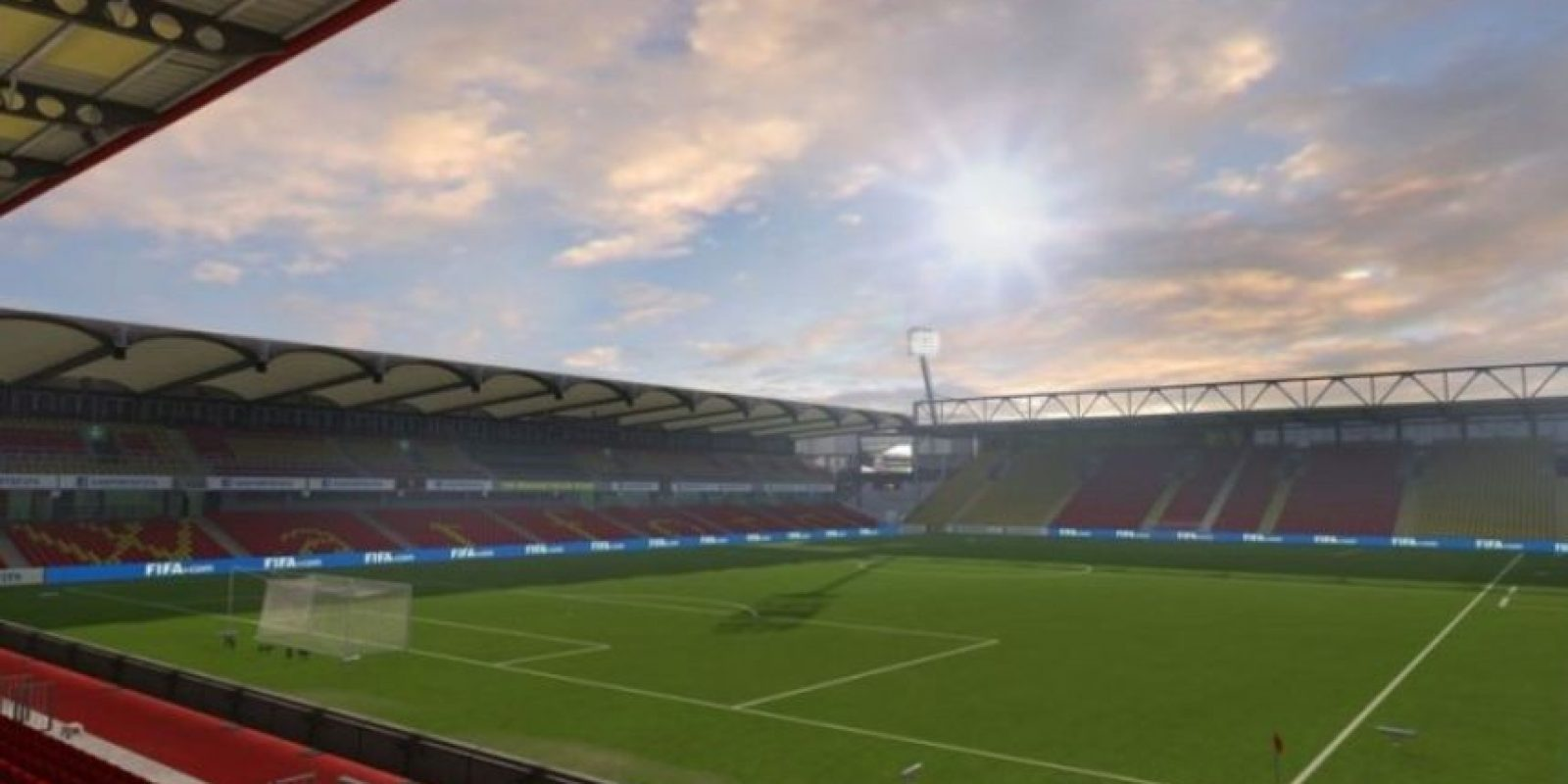Vicarage Road (Watford, Barclays Premier League). Foto: EA Sports