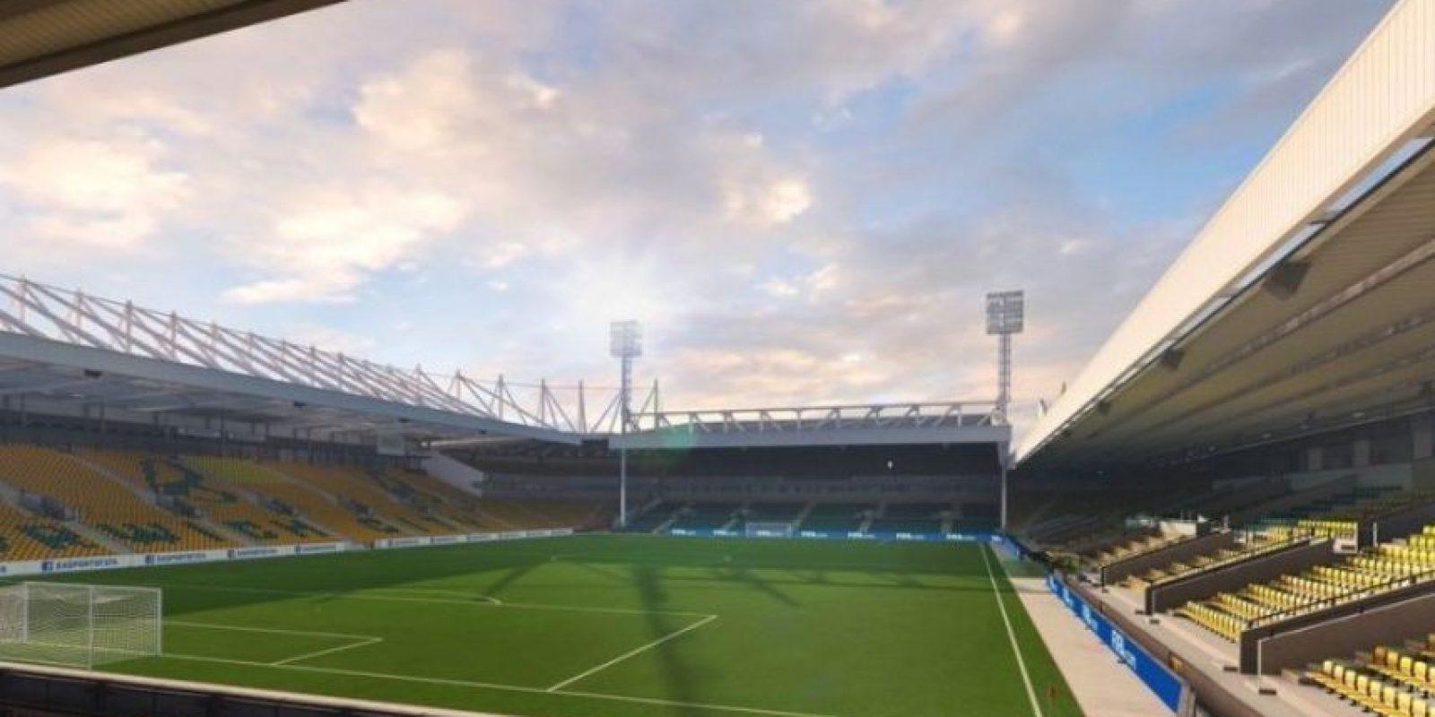 Carrow Road (Norwich City, Barclays Premier League). Foto:EA Sports