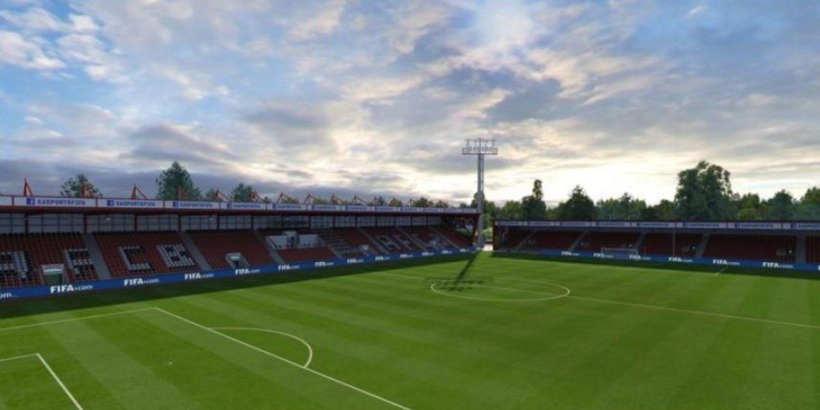 Vitality Stadium (Bournemouth, Barclays Premier League). Foto:EA Sports